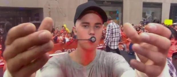 Foi neste momento que Justin Bieber desabafou.