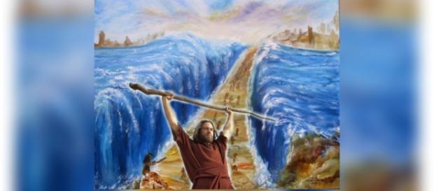 cena do mar se abrindo fará os dez mandamentos ter recorde de