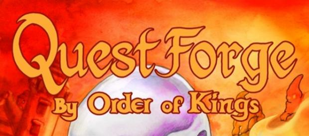 """Quest Forge by Orders of Kings""-Verpackung"