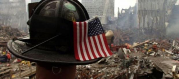 Zniszczenia po upadku wież World Trade Center