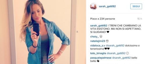 L'ultimo post su Instagram di Sarah Gatti