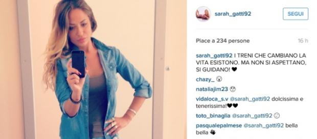 L'ultimo post su Instagram di Sarah Gatti