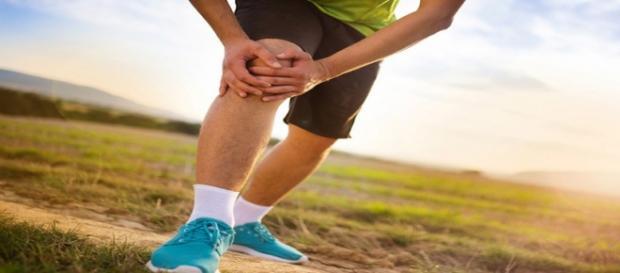 Lesões de joelho são comuns no esporte
