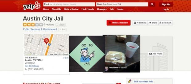 Yelp, presos que valoran cárceles