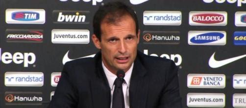 Allegri, tecnico della Juventus