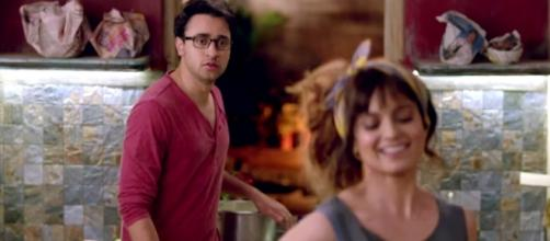Kangana Ranaut and Imran Khan in 'Katti Batti'