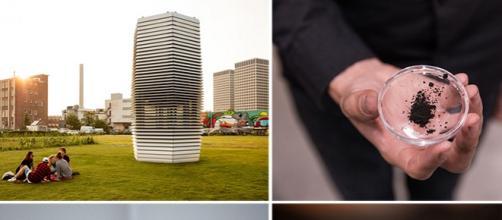 Smog Free Project, torre purificadora de aire