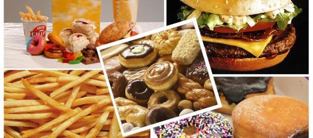Alimentos con grasas trans (perjudiciales)