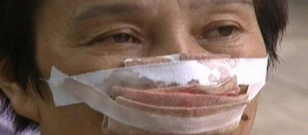 Fostul soț i-a mâncat nasul în fața tuturor