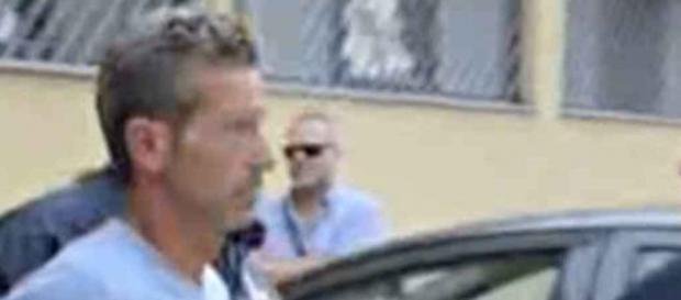 Il momento dell'arresto di Massimo Bossetti