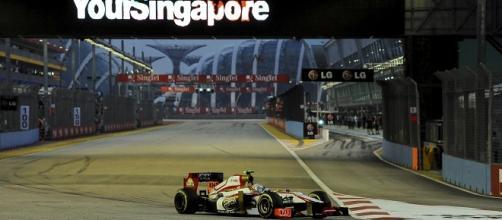 Il circuito cittadino di Singapore