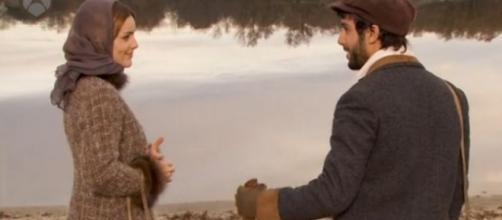 Il Segreto, Simon e Soledad al lago.