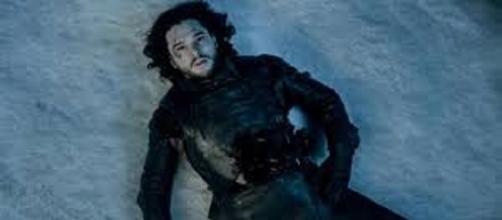 Jon Nieve, al final de la quinta temporada