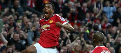 New United's star Anthony Martial.