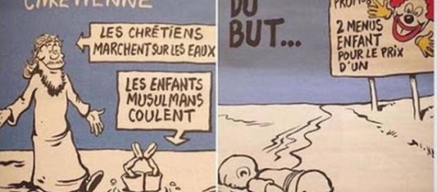 Charlie Hebdo debocha de tragédia/ Divulgação