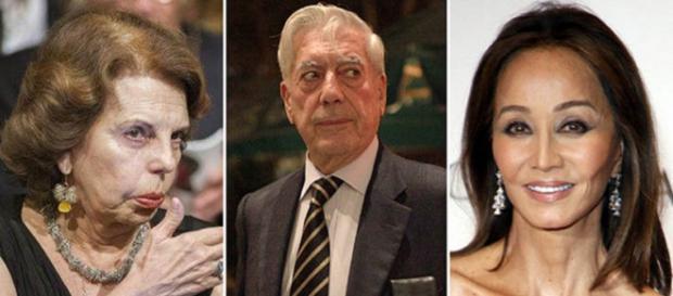 Patricia Llosa sola, sin el apoyo de sus hijos