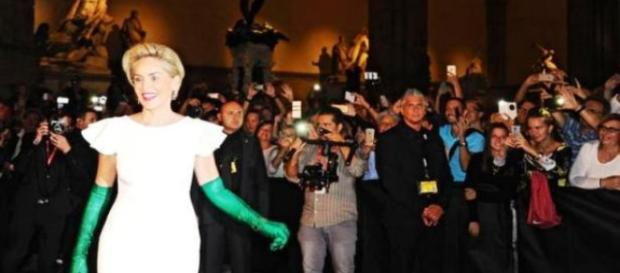 Sharon Stone a Firenze per una serata charity