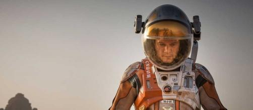 Matt Damon en la pelicula The Martian (2015)