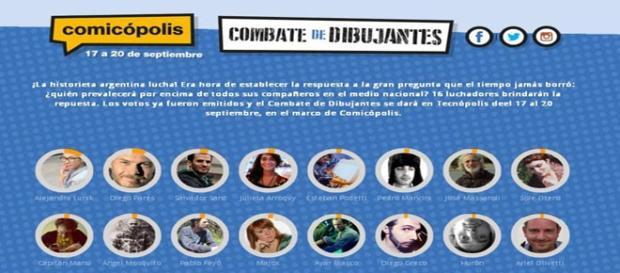 Comicópolis, del 17 al 20/09 en Tecnópolis