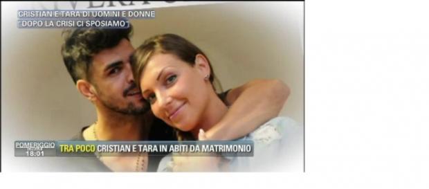 Cristian e Tara sposi a novembre