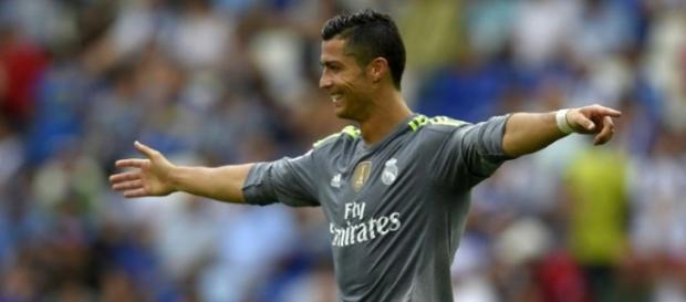 Cristiano Ronaldo with the new record.