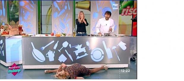 La caduta su Rai Uno di Lisa Fusco.