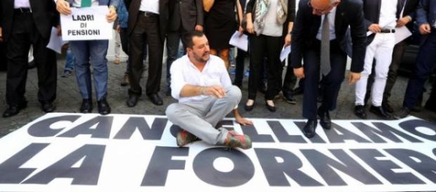 """Matteo Salvini: """"Occupiamo il MEF"""""""