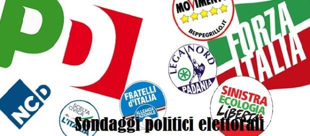 Sondaggi politici elettorali Emg TG La7 15/09/2015