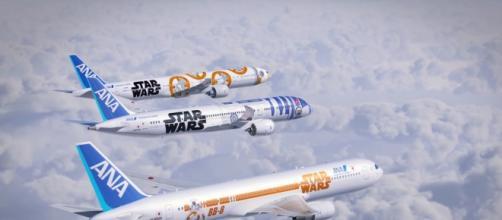 Aerei giapponesi a tema Star Wars