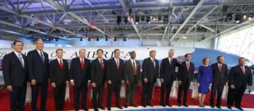 Candidatos a presidência dos Estados Unidos