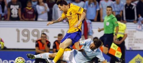 Messi foi insuficiente para evitar a derrota.