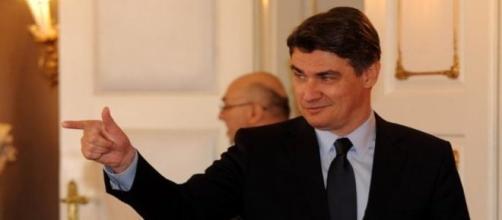 Primer ministro de Croacia, Zoran Milanovic.