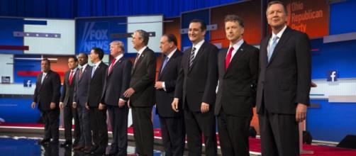 Trump, Bush, Carson y Fiorina, los favoritos