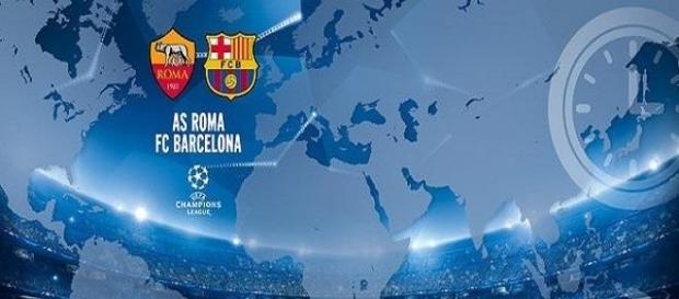 AS Roma x Barcelona, um grande jogo