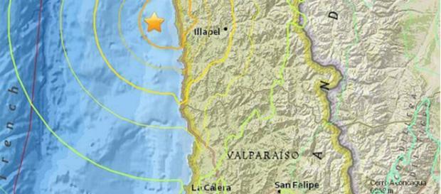 Imagen por el Servicio Geológico de EE.UU
