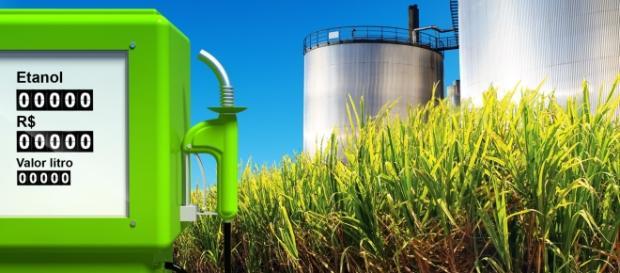 Produção recorde de etanol pelo Brasil.