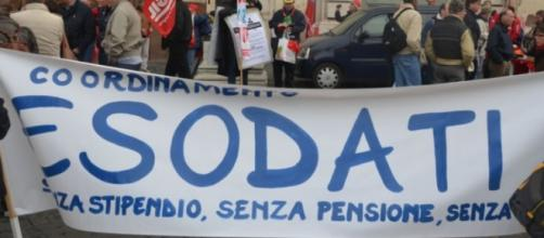 Esodati in rivolta, reclamano la pensione