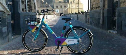Le biciclette gratuite del Bike Sharing Napoli