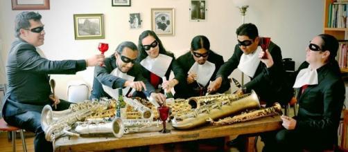 Los Tránsax, colectivo de saxofonistas
