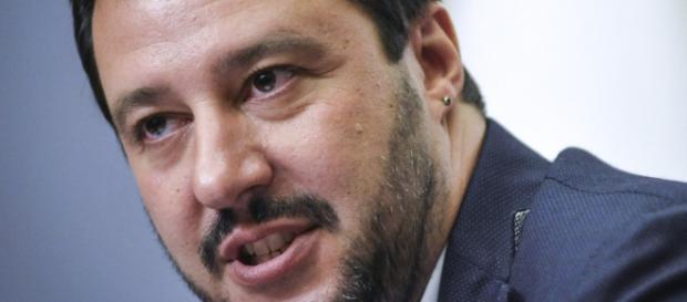 Il leader del 'carroccio', Matteo Salvini