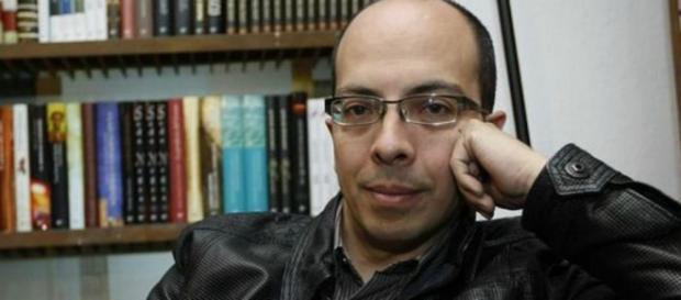 Jorge Volpi, fotografía de redes sociales