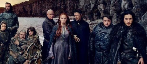 Los protagonistas de 'Juego de Tronos'