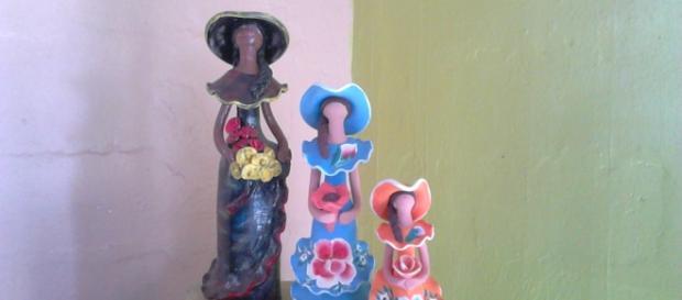 Muñeca sin rostro ícono de la artesanía criolla