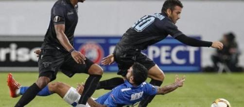 Incredibile pareggio contro il Dnipro per la Lazio