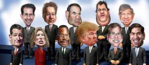 What a bunch! About faces Donald...