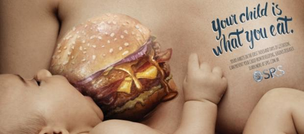 Campaña Your child is what you eat