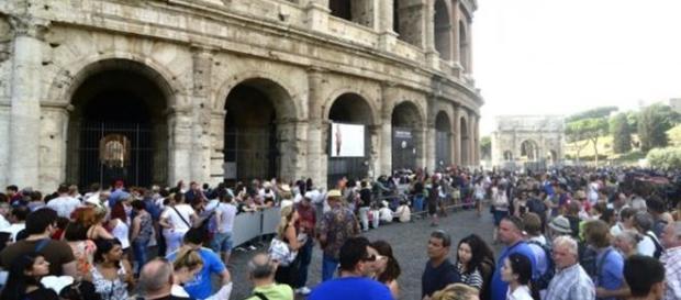 Colosseo chiuso per assemblea sindacale