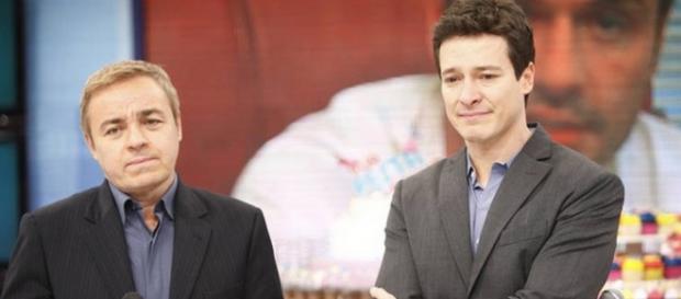 Faustão boicota Gugu e quer Rodrigo Faro na Globo