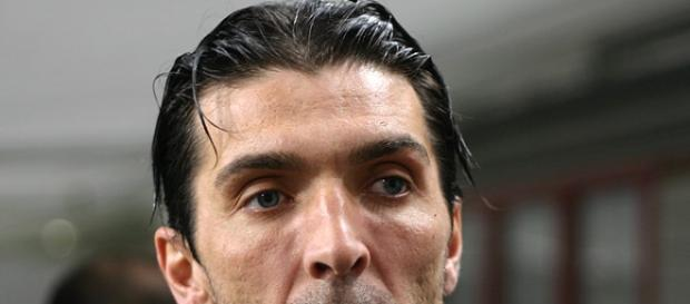 Gigi Buffon, uno degli eroi di Manchester