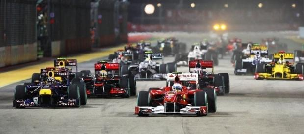 Orari con programmazione Gp Singapore F1.